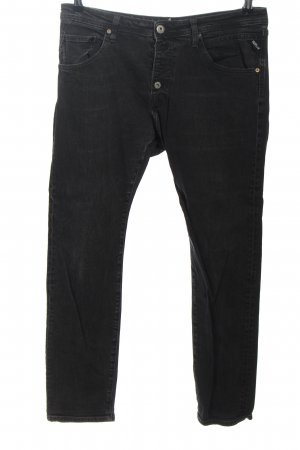Replay 7/8 Length Jeans black casual look