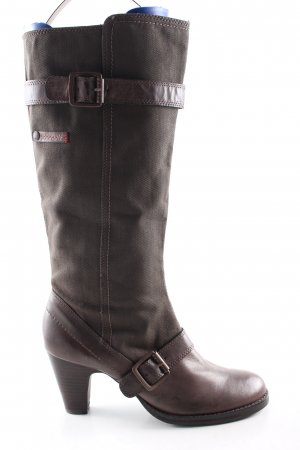 Replay Absatz Stiefel braun Casual-Look