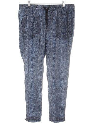 Replay Pantalone largo motivo animale stampa rettile