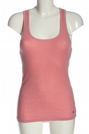 Replay Basic Top pink meliert Casual-Look