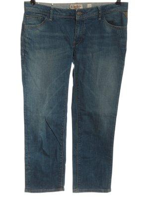 replay blue jeans Jeansy biodrówki niebieski W stylu casual