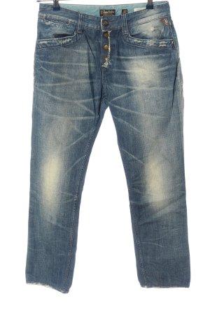 replay blue jeans Jeans vita bassa blu stile casual