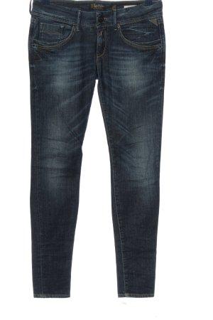 replay blue jeans Röhrenjeans blau Casual-Look
