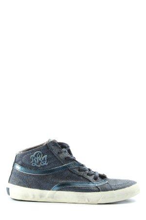 replay blue jeans Schnürsneaker blau Casual-Look
