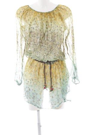 Replay Blusenkleid mehrfarbig Casual-Look