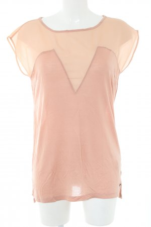 Replay Blouse topje nude casual uitstraling