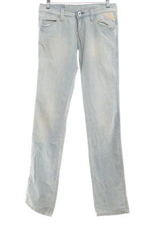 Replay Boot Cut Jeans blassblau-creme Used-Optik