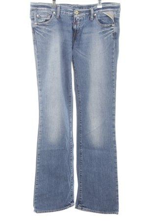 Replay Jeans bootcut bleu style décontracté
