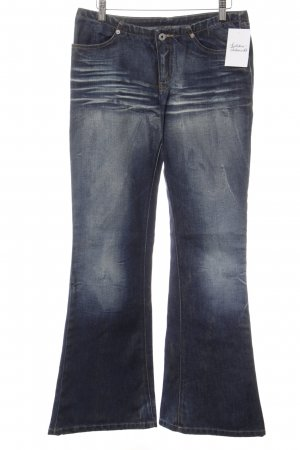 Replay Boot Cut Jeans dunkelblau Casual-Look
