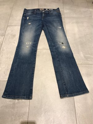 Replay Boot Cut Jeans, Used Look, Strech, W 27 L 32