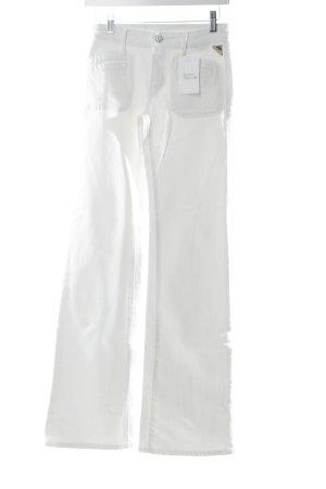 Replay Boot Cut Jeans weiß schlichter Stil