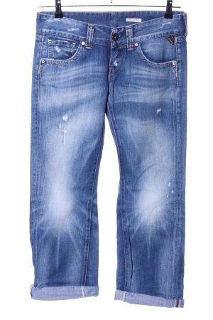 Replay Boyfriend Jeans blue street-fashion look