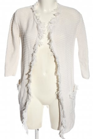Replay Cardigan blanc style décontracté