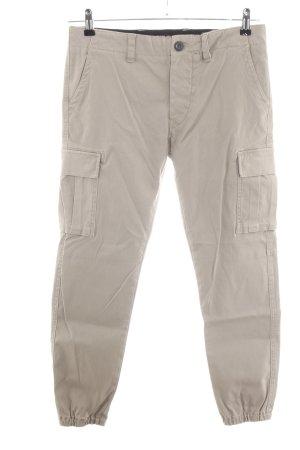 Replay Pantalón de camuflaje blanco puro look casual
