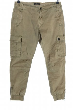 Replay Pantalon cargo kaki style décontracté