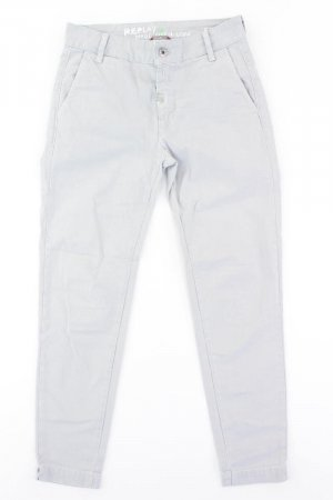 Replay Chinos multicolored cotton