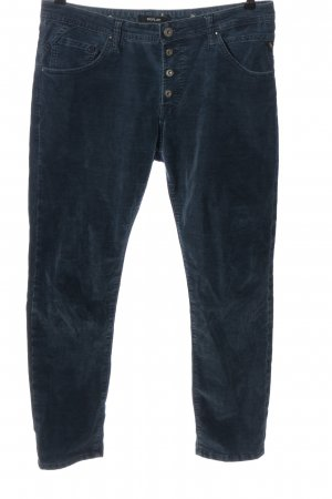 Replay Corduroy Trousers blue casual look