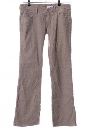 Replay Corduroy Trousers brown casual look