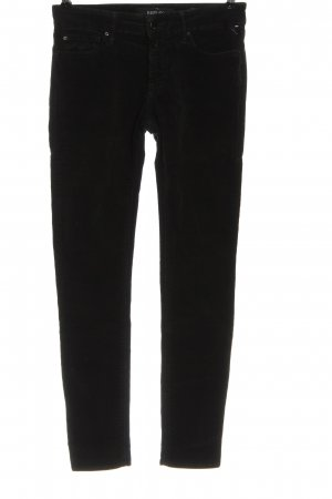 Replay Corduroy Trousers black casual look