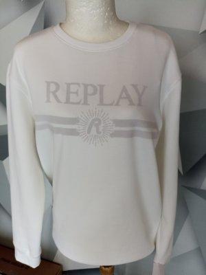 Replay Sweat Shirt white