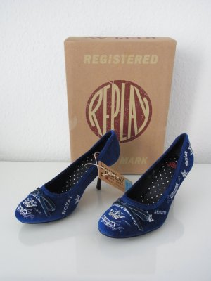 REPLAY Damen Schuhe Pumps RP1037 BLANCA Größe 36 *NEU*