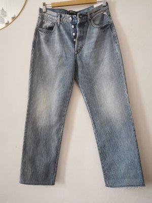 Replay Jeansy z prostymi nogawkami Wielokolorowy Bawełna