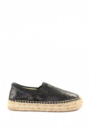 Replay Espadrille Sandals black casual look