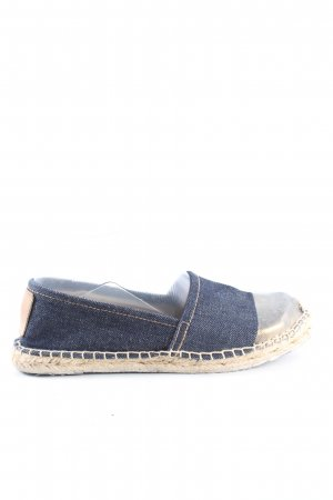 Replay Espadrilles-Sandalen blau-wollweiß Casual-Look
