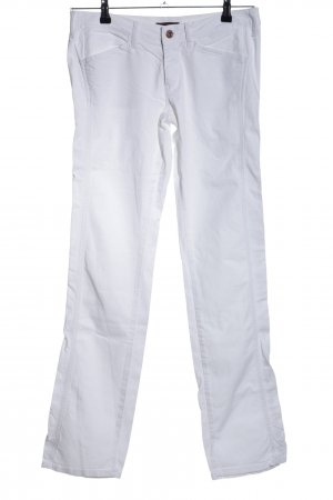 Replay Low-Rise Trousers white casual look