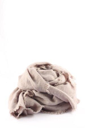 Replay Bufanda de flecos gris claro look casual