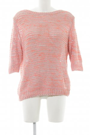 Replay Grobstrickpullover neonorange Casual-Look