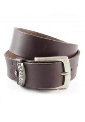 Replay Leather Belt brown leather