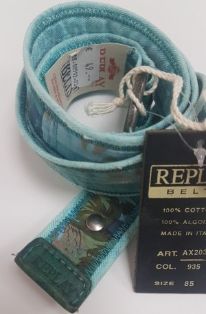 Replay Fabric Belt multicolored cotton