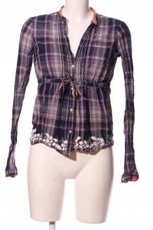 Replay Hemd-Bluse Blumenmuster Casual-Look