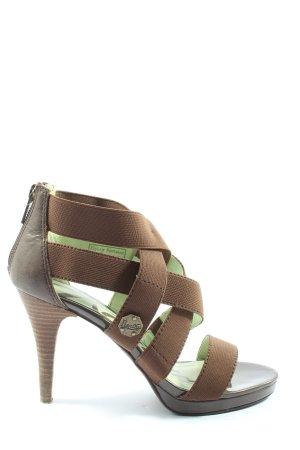 Replay High Heel Sandaletten braun extravaganter Stil
