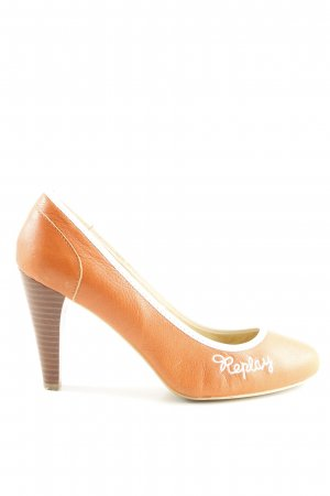 Replay High Heels hellorange Casual-Look