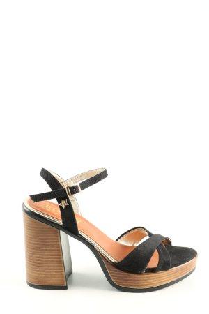 Replay High Heels schwarz Casual-Look