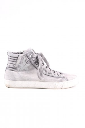 Replay High Top Sneaker hellgrau Casual-Look