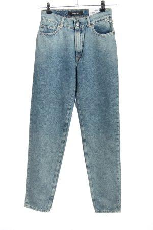 Replay High Waist Jeans blau Casual-Look