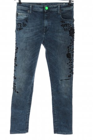 Replay Jeans slim fit blu stile casual