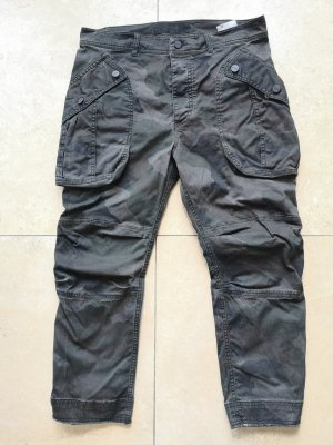 Replay Boyfriend Trousers black-anthracite