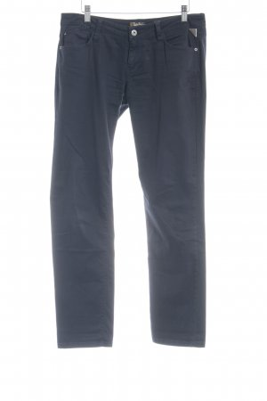 Replay Low-Rise Trousers dark blue casual look