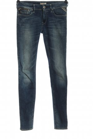 Replay Low Rise jeans blauw casual uitstraling