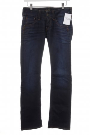Replay Low Rise jeans donkerblauw casual uitstraling