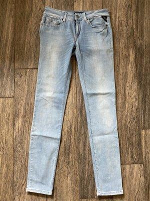 REPLAY Hyperflex LUZ Röhre Skinny Jeans Hose