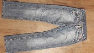Replay Boyfriend jeans blauw