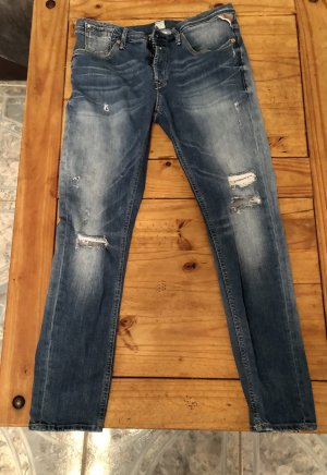 Replay Boyfriend jeans azuur-korenblauw