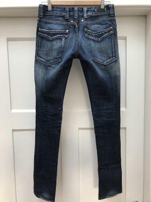 Replay Pantalone cinque tasche blu