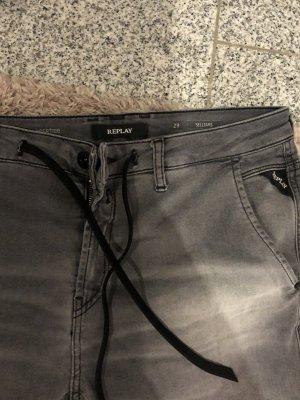 Replay Stretch jeans grijs