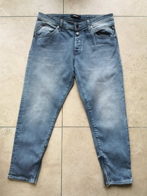 Replay Jeans Gr 29 Grau Slim Jeans